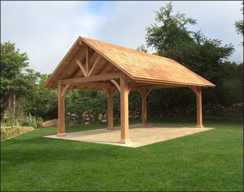 Custom pavilions for Cedar pavilion plans