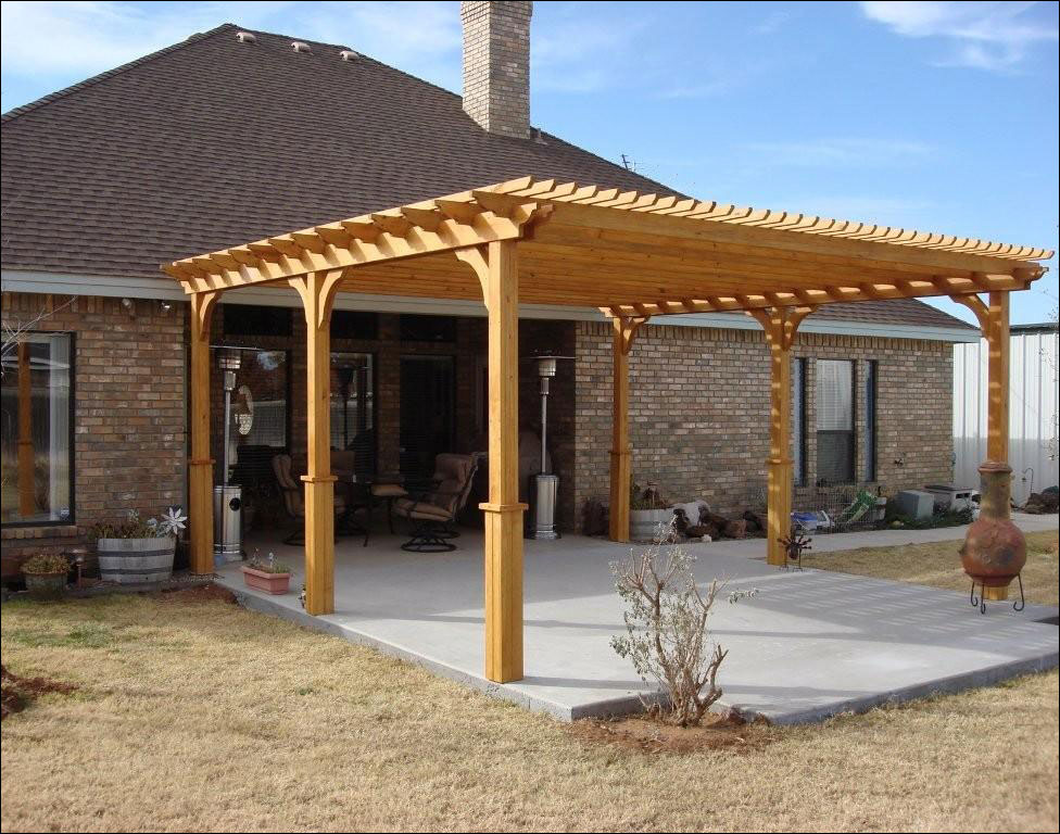 customer 39 s photo 16 39 x 20 39 treated pine 2 beam pergola. Black Bedroom Furniture Sets. Home Design Ideas