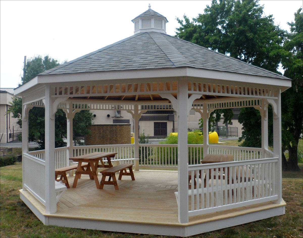 Customer S Photo 20 Vinyl Octagon Gazebo