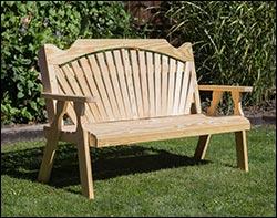 Treated Pine Garden Benches