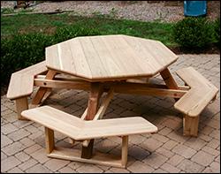 Red Cedar Patio / Picnic Tables