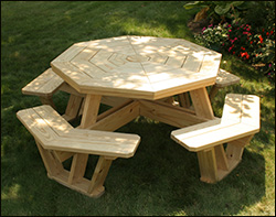 Picnic Tables - 8 foot picnic table for sale