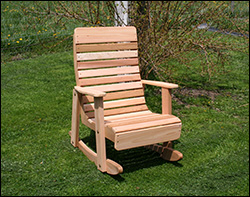 Red Cedar Rocking Chairs