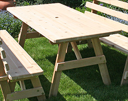 Red Cedar Picnic Table
