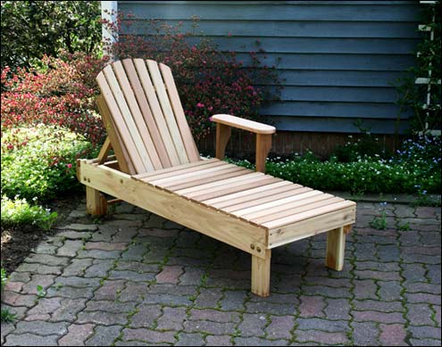 Red Cedar Keystone Chaise Lounge : cedar chaise lounge - Sectionals, Sofas & Couches