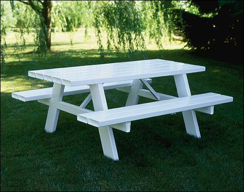 picnic tables. Black Bedroom Furniture Sets. Home Design Ideas