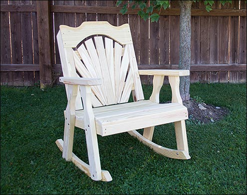 hot sale online 2a874 9ad15 Wooden Outdoor Rocking Chairs