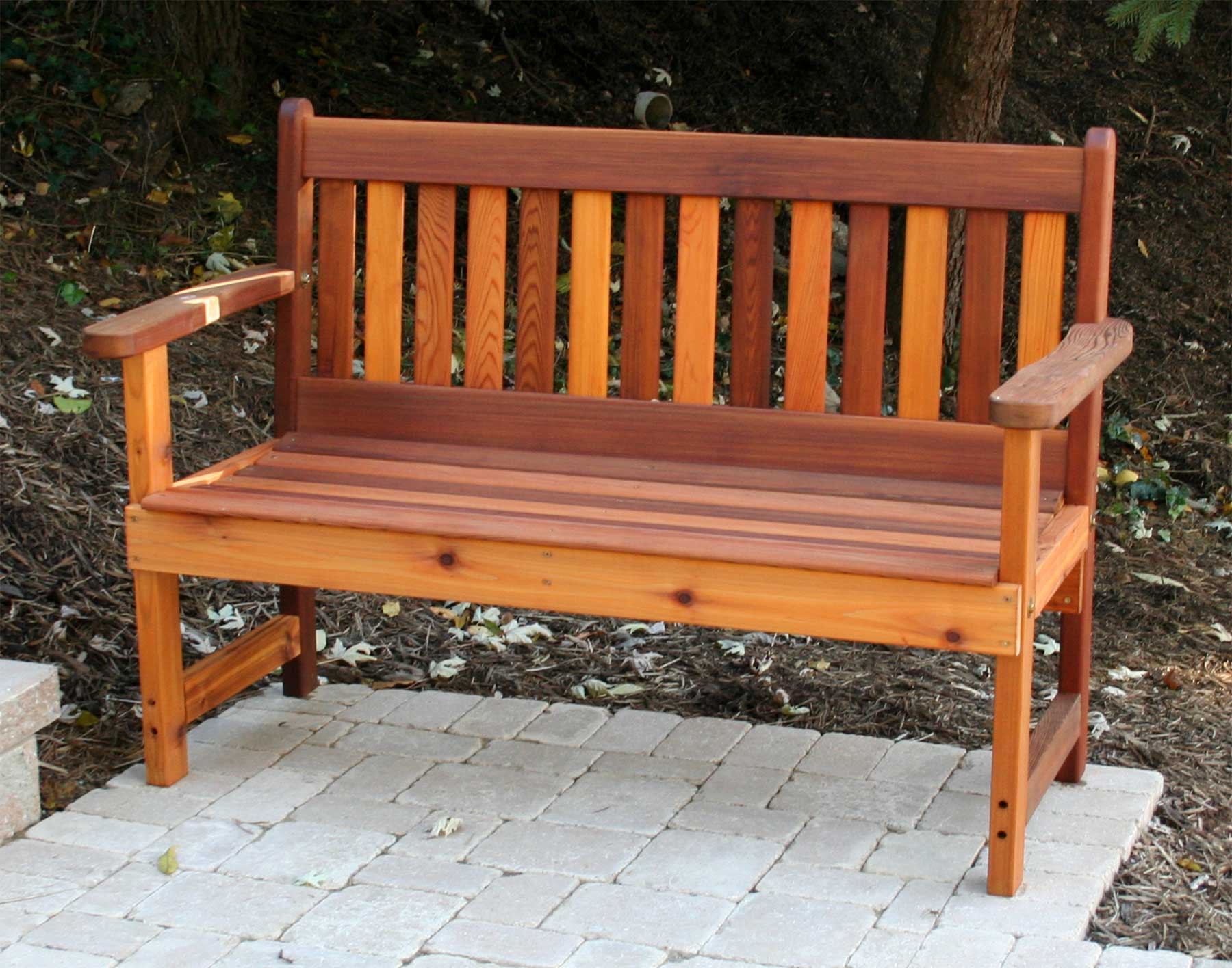 Cedar Garden Benches Outdoor